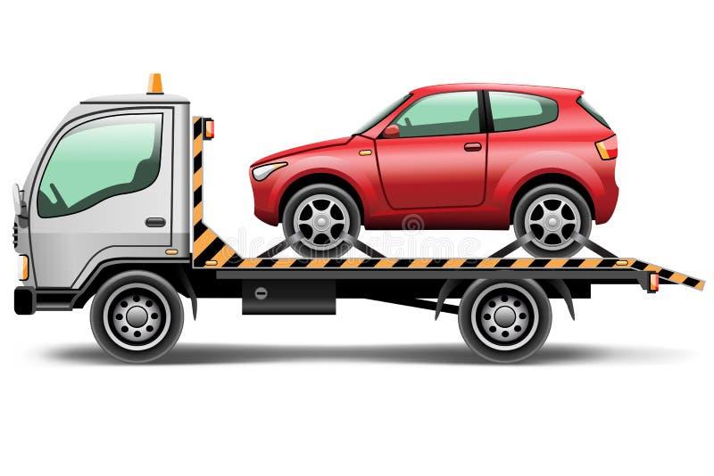 Φορτηγό ρυμούλκησης ελεύθερη απεικόνιση δικαιώματος