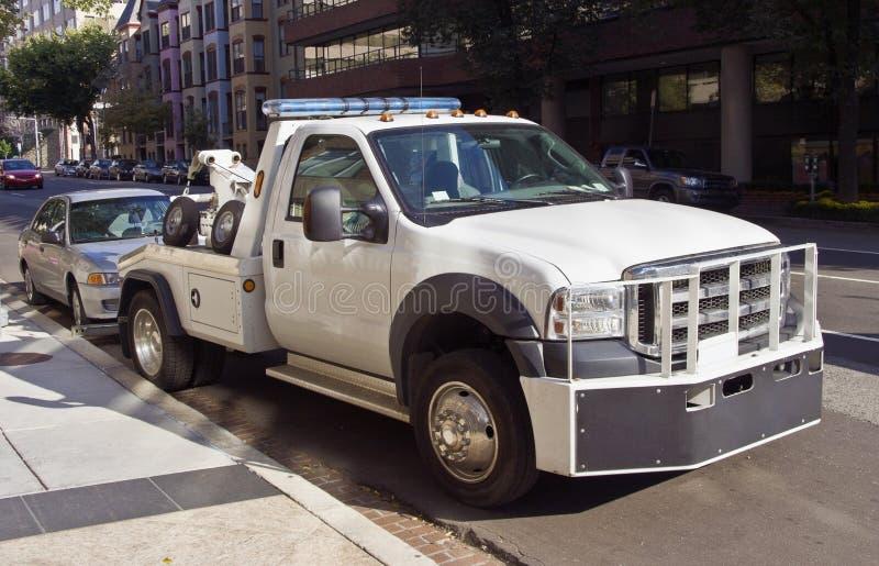 Φορτηγό ρυμούλκησης στοκ φωτογραφία με δικαίωμα ελεύθερης χρήσης