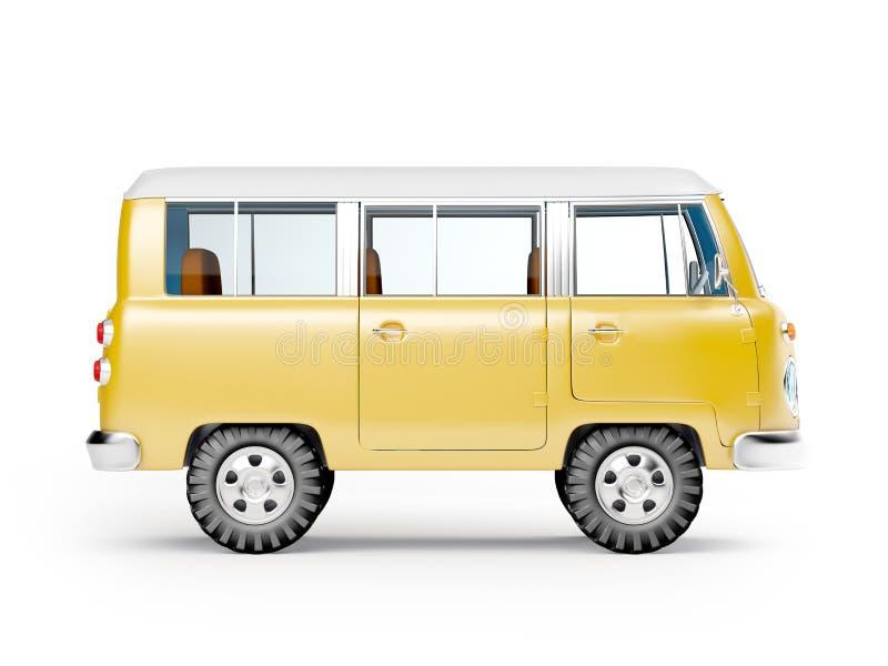 Φορτηγό σαφάρι διανυσματική απεικόνιση