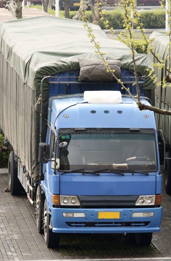 Φορτηγό στην Κίνα στοκ φωτογραφία