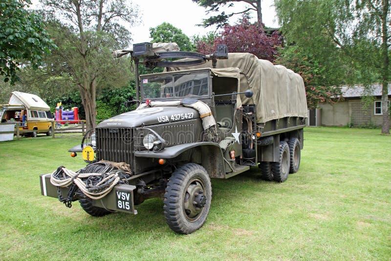 Φορτηγό στρατού στοκ εικόνες