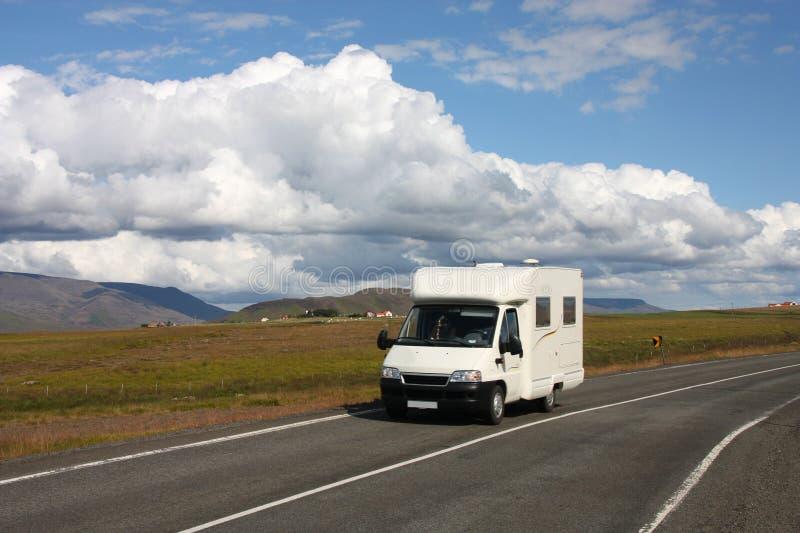 φορτηγό της Ισλανδίας τρ&omicro στοκ φωτογραφίες