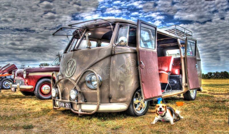 Φορτηγό της VW Kombi στοκ εικόνες