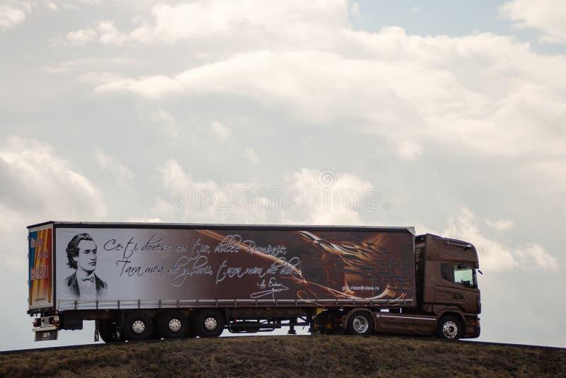 Φορτηγό φορτίου στοκ φωτογραφίες με δικαίωμα ελεύθερης χρήσης