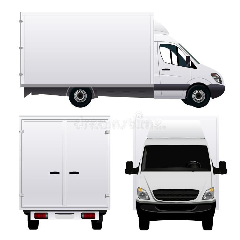 Φορτηγό φορτίου απεικόνιση αποθεμάτων