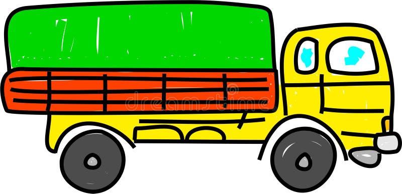 φορτηγό απεικόνιση αποθεμάτων