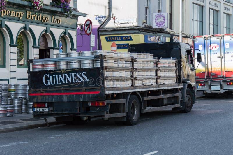 Φορτηγό Guiness στο Δουβλίνο, Irealnd στοκ φωτογραφίες με δικαίωμα ελεύθερης χρήσης