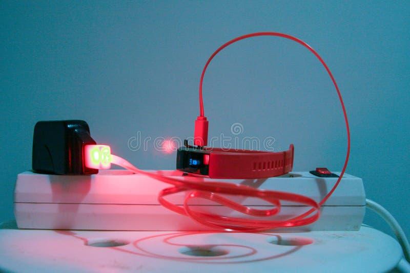 Φορτιστής USB στοκ εικόνες με δικαίωμα ελεύθερης χρήσης