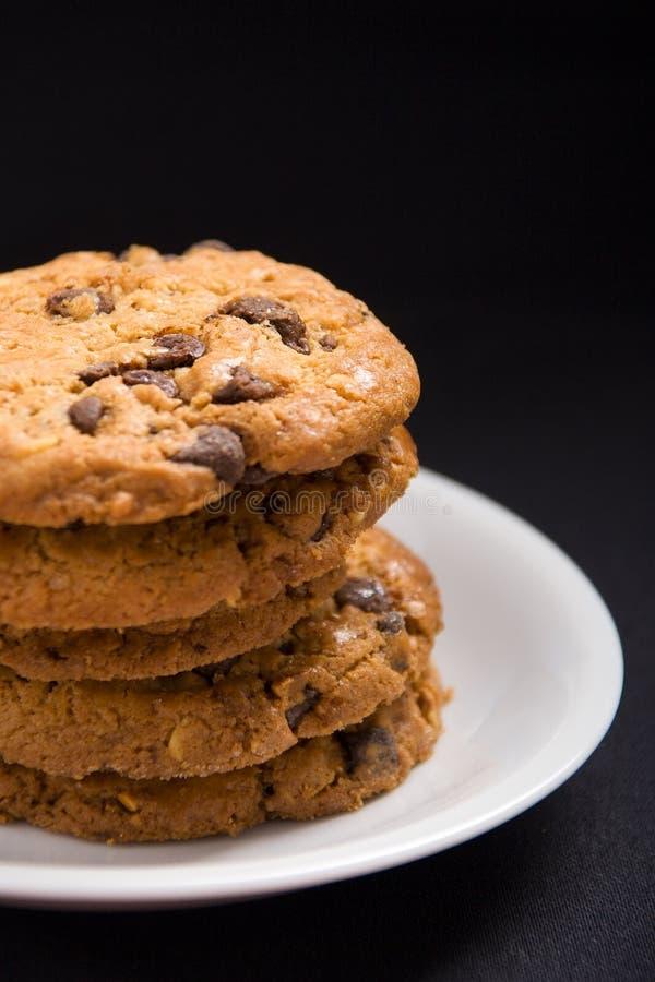 Download φουντούκι μπισκότων σοκ&omic Στοκ Εικόνες - εικόνα από νόστιμος, ζύμη: 1544702