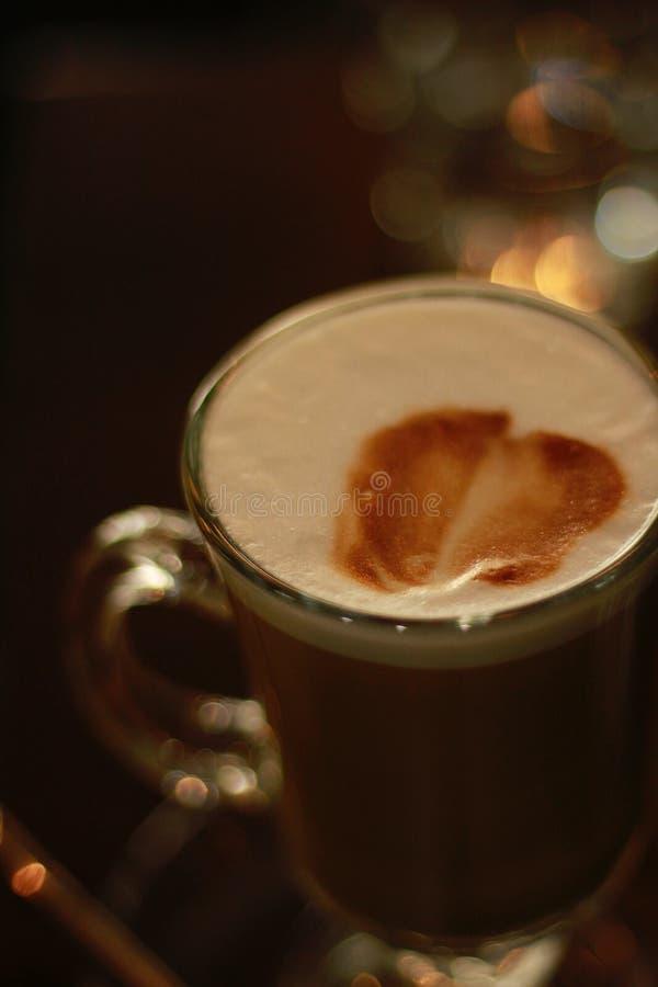 Φουντούκι Latte στοκ εικόνα με δικαίωμα ελεύθερης χρήσης