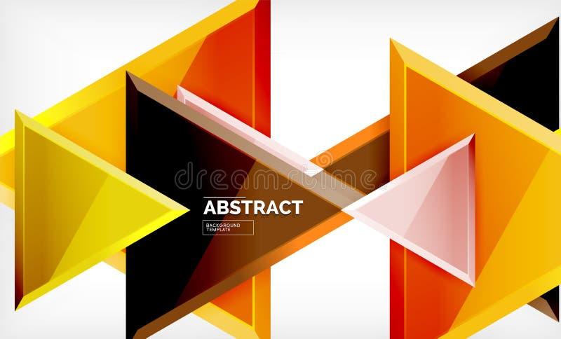 Φουτουριστικές γεωμετρικές τρισδιάστατες μορφές τεχνολογίας, ελάχιστο αφηρημένο υπόβαθρο απεικόνιση αποθεμάτων