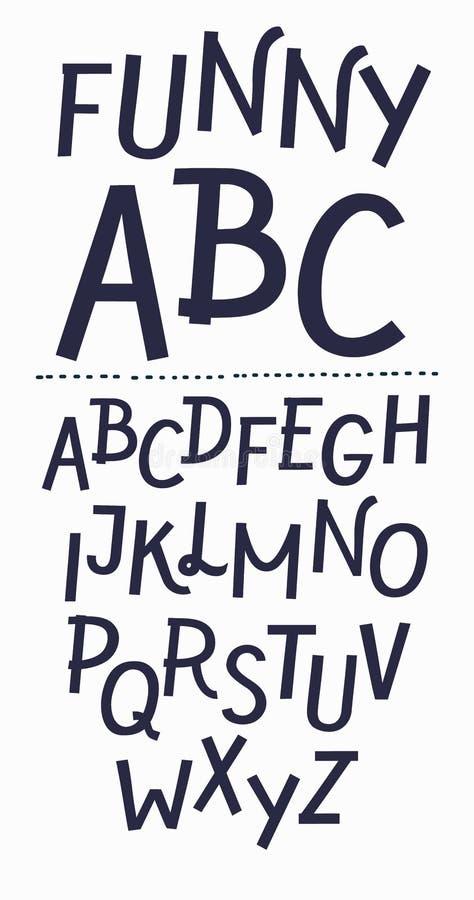 Φουτουριστικές επιστολές αλφάβητου πηγών Δημιουργικός ελάχιστος χαρακτήρας Διανυσματικό EPS 10 ελεύθερη απεικόνιση δικαιώματος