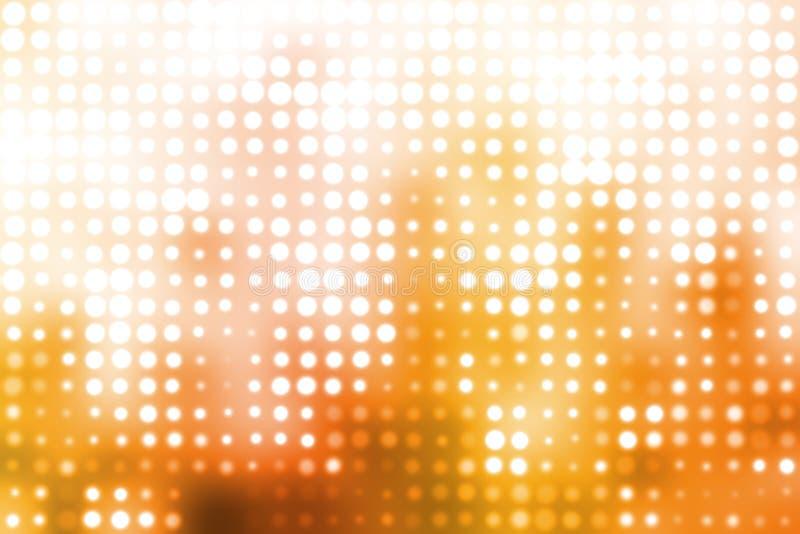 φουτουριστικό ανοικτό πορτοκαλί λευκό ανασκόπησης ελεύθερη απεικόνιση δικαιώματος