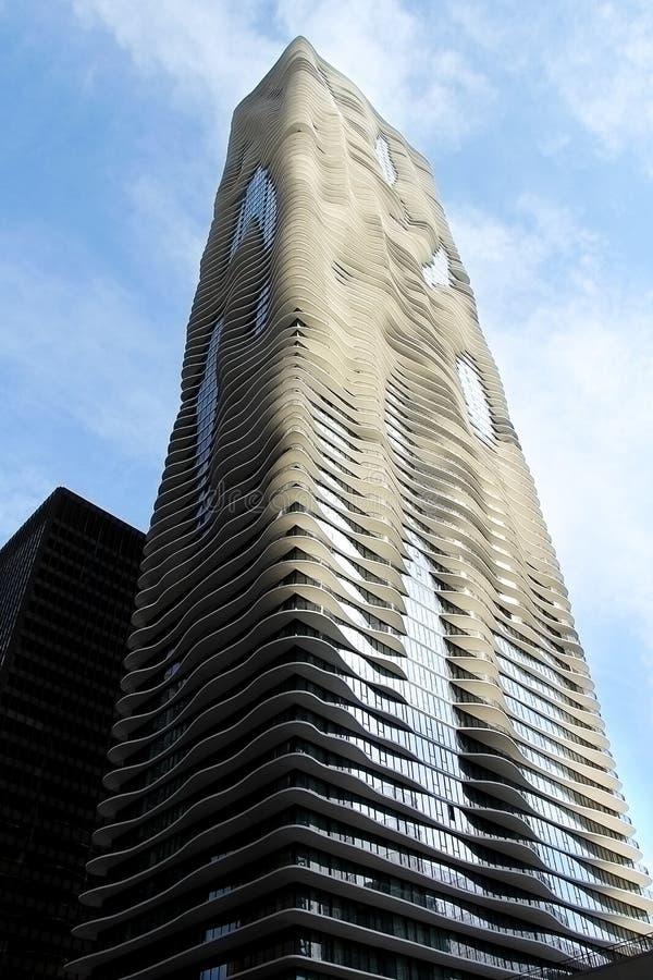 Φουτουριστικό κτήριο αρχιτεκτονικής στοκ φωτογραφίες