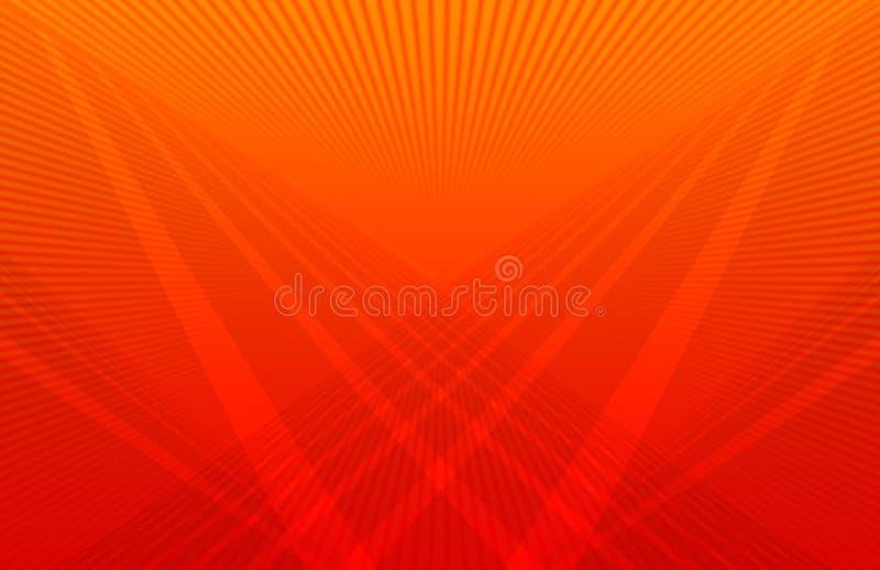 φουτουριστικό πορτοκά&lambd απεικόνιση αποθεμάτων