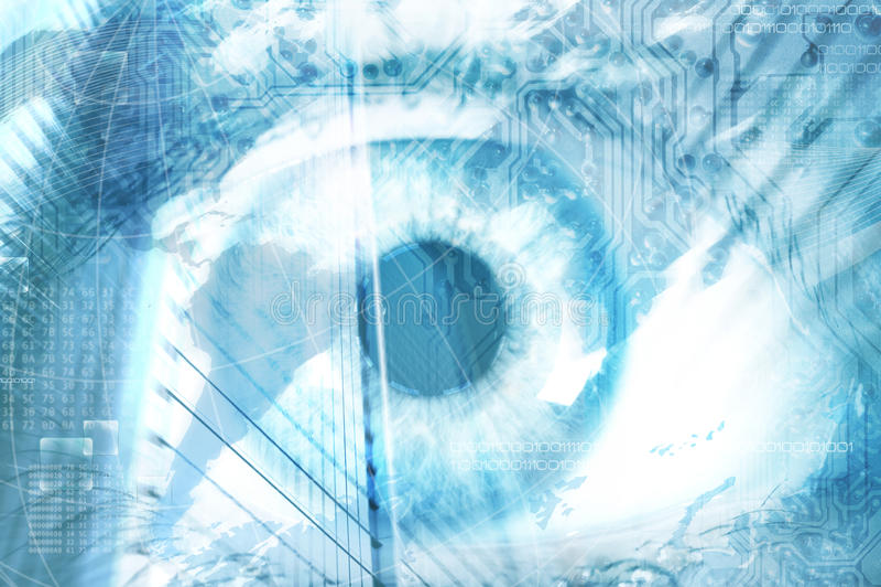 φουτουριστικό όραμα στοκ φωτογραφίες