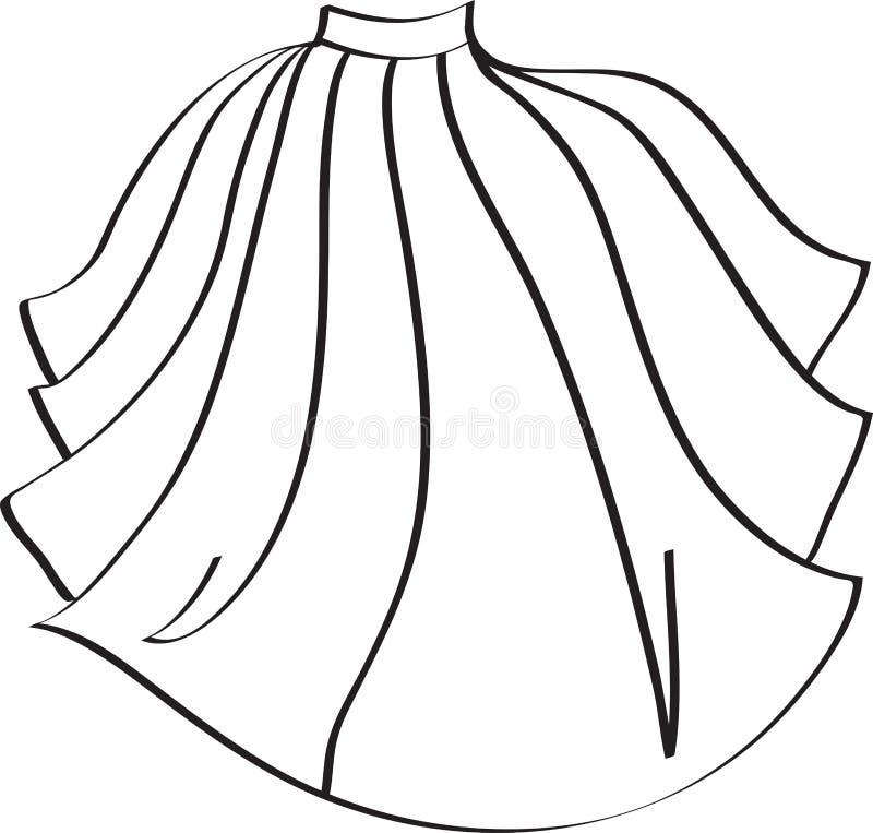 Φούστα γυναικών μόδας r ελεύθερη απεικόνιση δικαιώματος