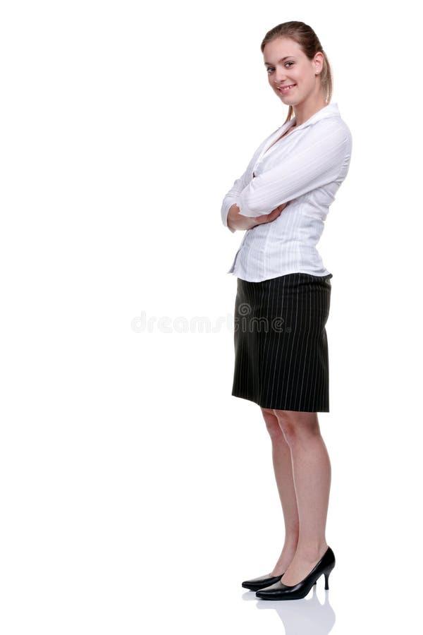 φούστα Yong επιχειρηματιών μπ&lamb στοκ φωτογραφία με δικαίωμα ελεύθερης χρήσης