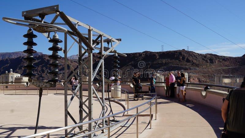 Φράγμα Hoover στη Νεβάδα στοκ φωτογραφίες