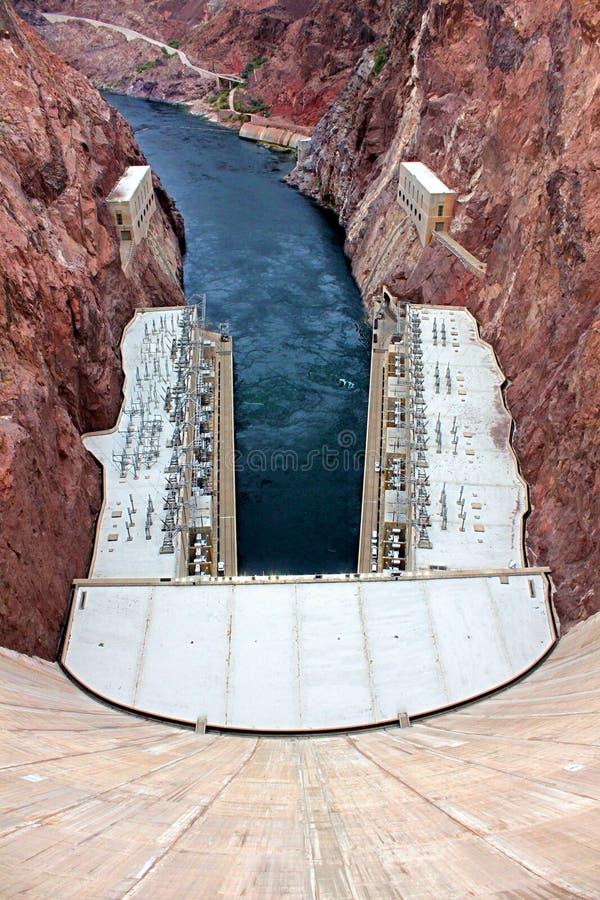 Φράγμα Hoover στο νοτιοδυτικό σημείο ΗΠΑ στοκ φωτογραφίες