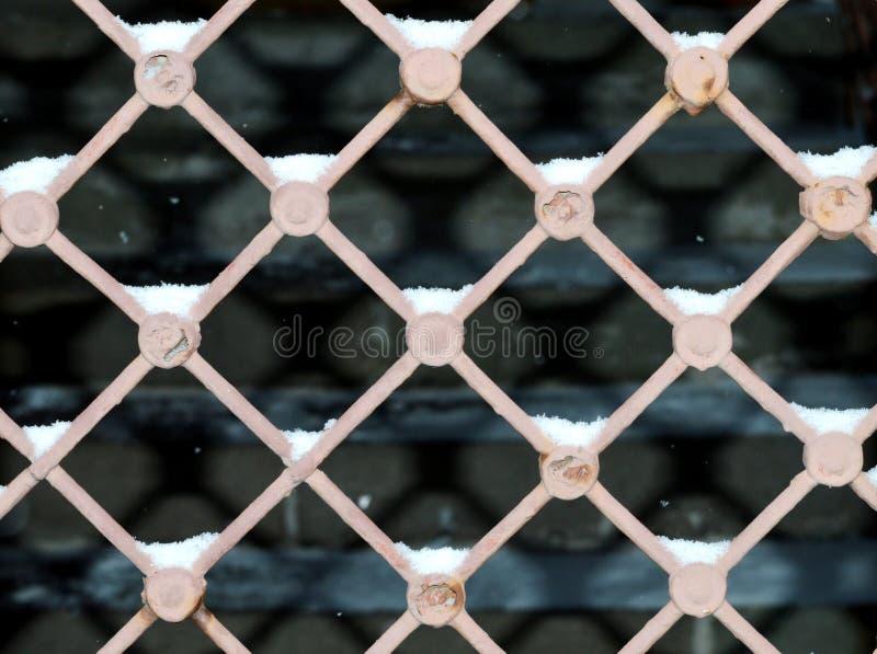 Φράκτης και σκιά στοκ φωτογραφία με δικαίωμα ελεύθερης χρήσης