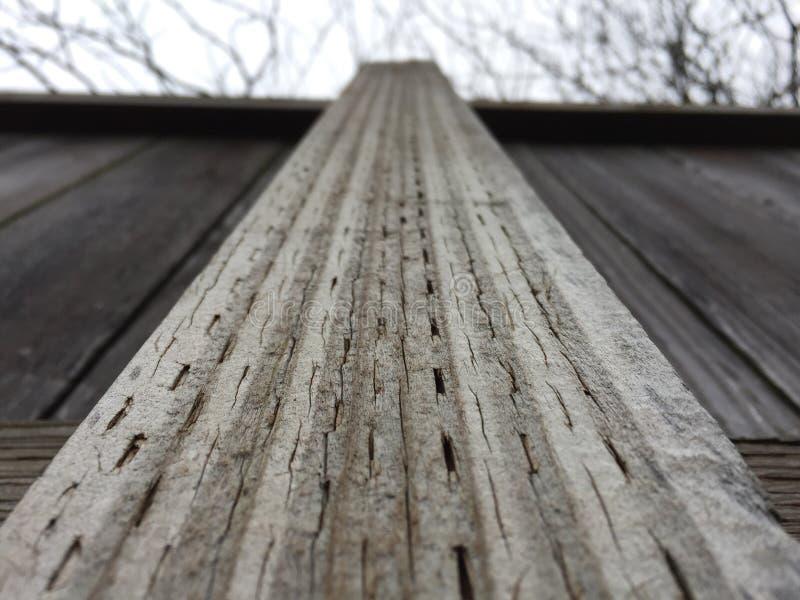Φράκτης μια χειμερινή ημέρα στοκ φωτογραφία με δικαίωμα ελεύθερης χρήσης