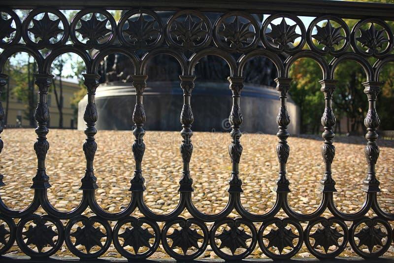 Φράκτης χαλκού στοκ φωτογραφία με δικαίωμα ελεύθερης χρήσης