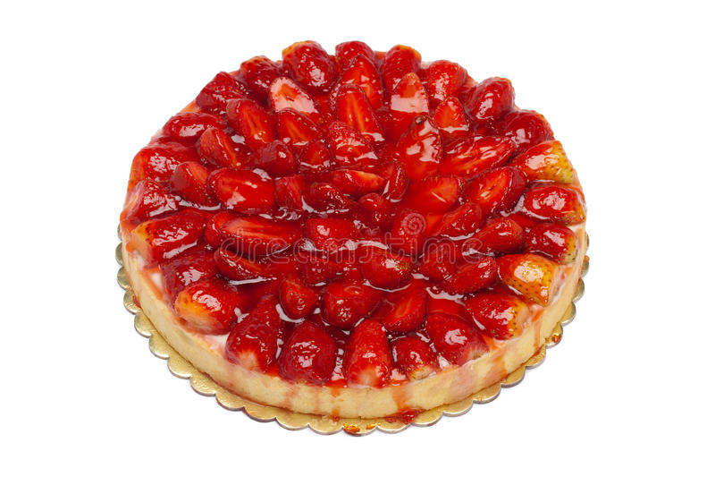 φράουλα κέικ στοκ φωτογραφίες