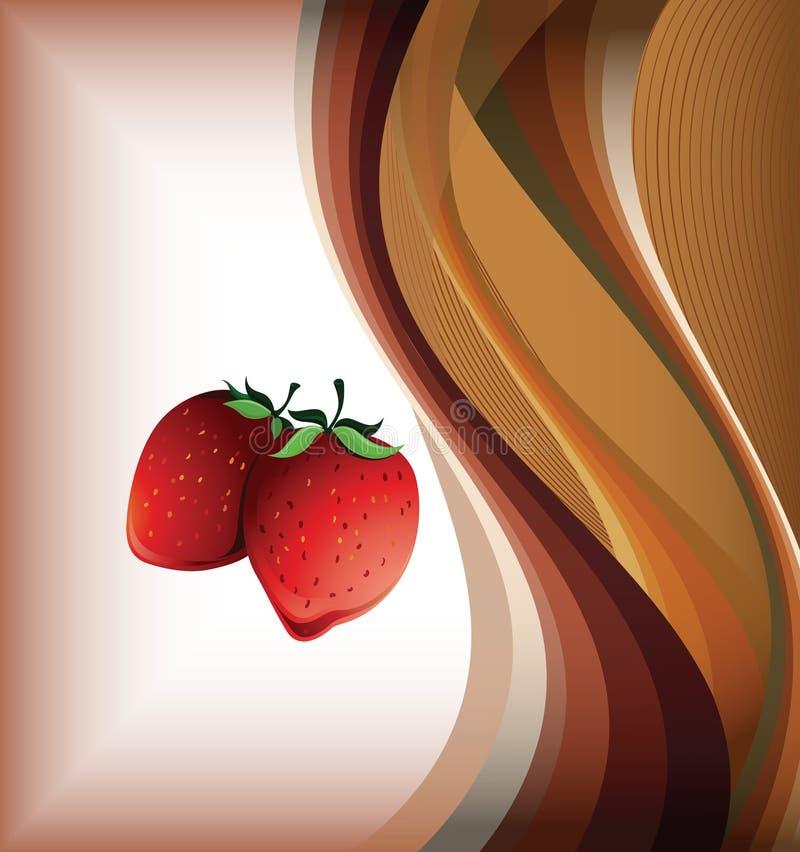φράουλα καρπών διανυσματική απεικόνιση