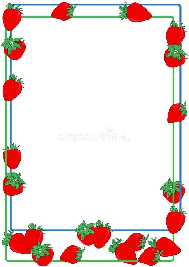 φράουλα συνόρων ελεύθερη απεικόνιση δικαιώματος