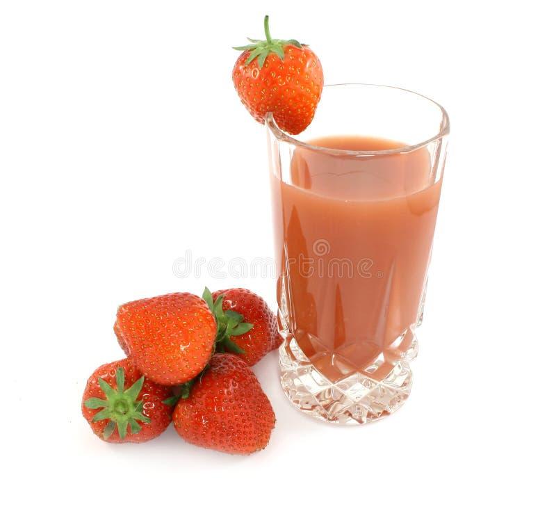 φράουλα χυμού στοκ εικόνα