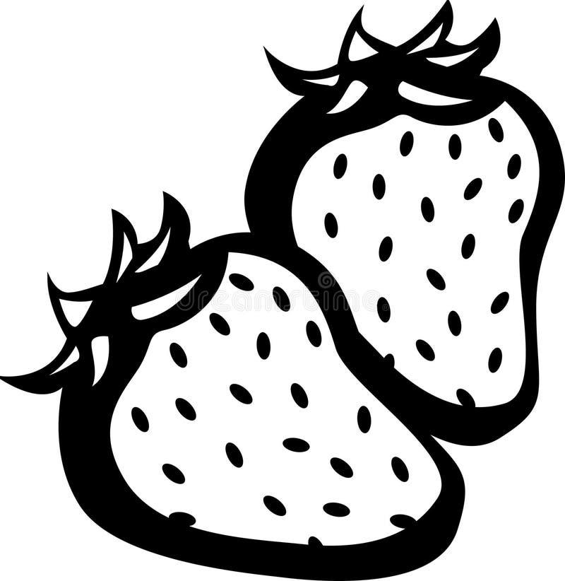 φράουλες διανυσματική απεικόνιση
