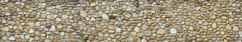 Φράχτης από στρογγυλεμένες πέτρες στοκ εικόνες