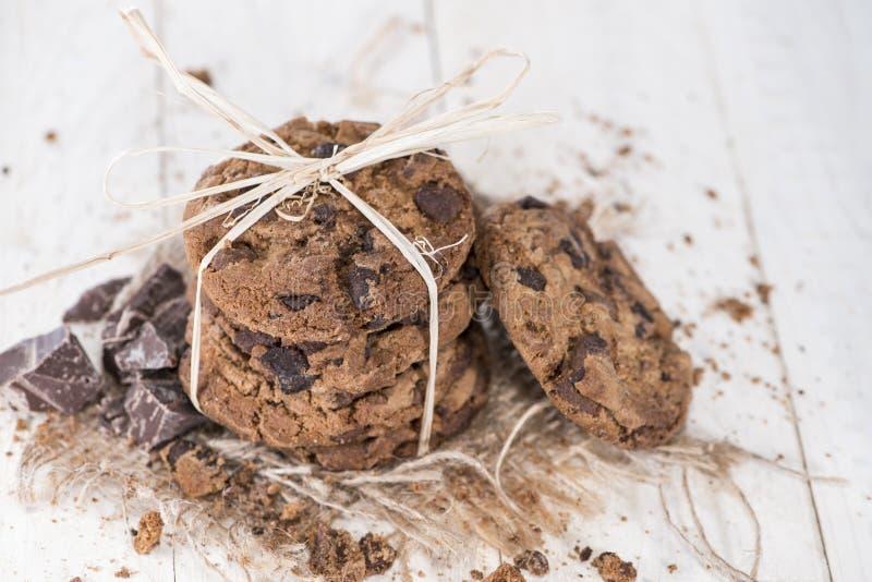 Φρέσκα γίνοντα μπισκότα στοκ εικόνα