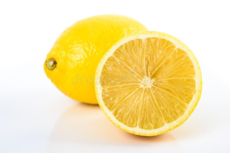 φρέσκα λεμόνια κίτρινα στοκ φωτογραφία με δικαίωμα ελεύθερης χρήσης