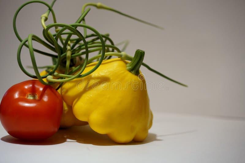 Φρέσκα επιλεγμένα λαχανικά στοκ εικόνα