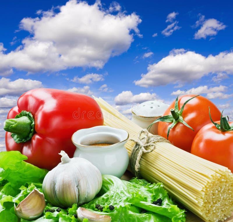 φρέσκα λαχανικά μακαρονιώ& στοκ εικόνες με δικαίωμα ελεύθερης χρήσης