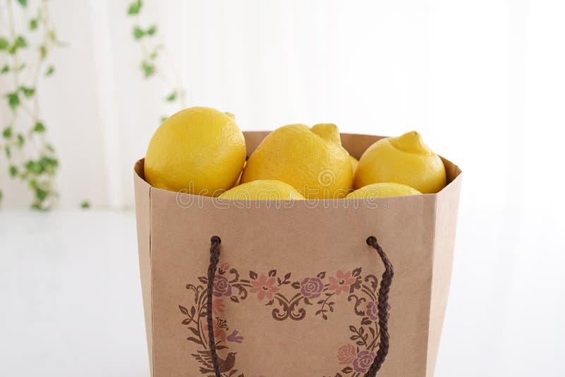 φρέσκα λεμόνια στοκ εικόνες με δικαίωμα ελεύθερης χρήσης