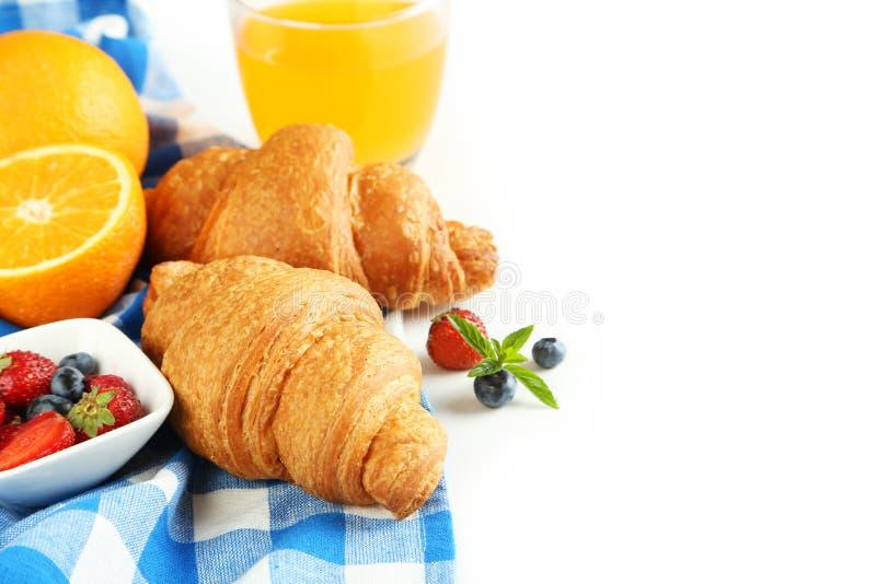 Φρέσκα νόστιμα croissants στοκ φωτογραφίες