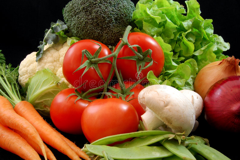 φρέσκα υγιή λαχανικά Στοκ Φωτογραφία