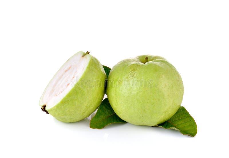 Φρέσκα φρούτα γκοϋαβών στο ξύλινο υπόβαθρο στοκ εικόνες