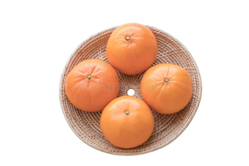 Φρέσκα φρούτα πορτοκαλιών κινεζικής γλώσσας στοκ εικόνες