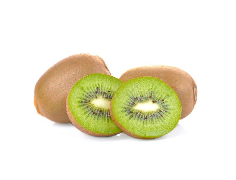 Φρέσκα φρούτα kivi σε ένα άσπρο υπόβαθρο στοκ εικόνες