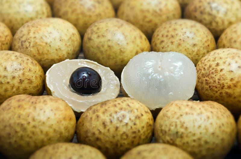Φρέσκα φρούτα Longan στοκ φωτογραφίες