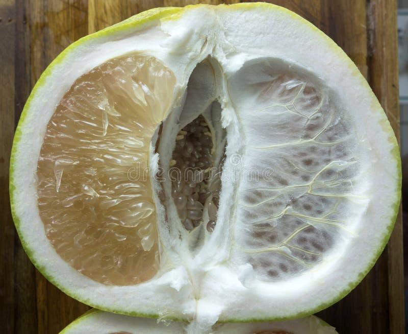 Φρέσκα Pomelo φρούτα στοκ φωτογραφία