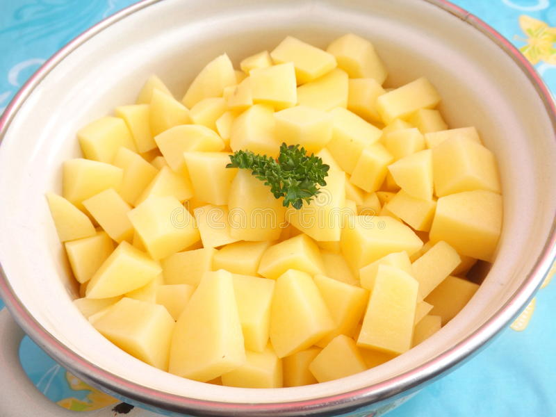 φρέσκες πατάτες στοκ εικόνα