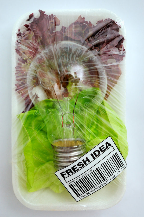 φρέσκια ιδέα στοκ εικόνα με δικαίωμα ελεύθερης χρήσης