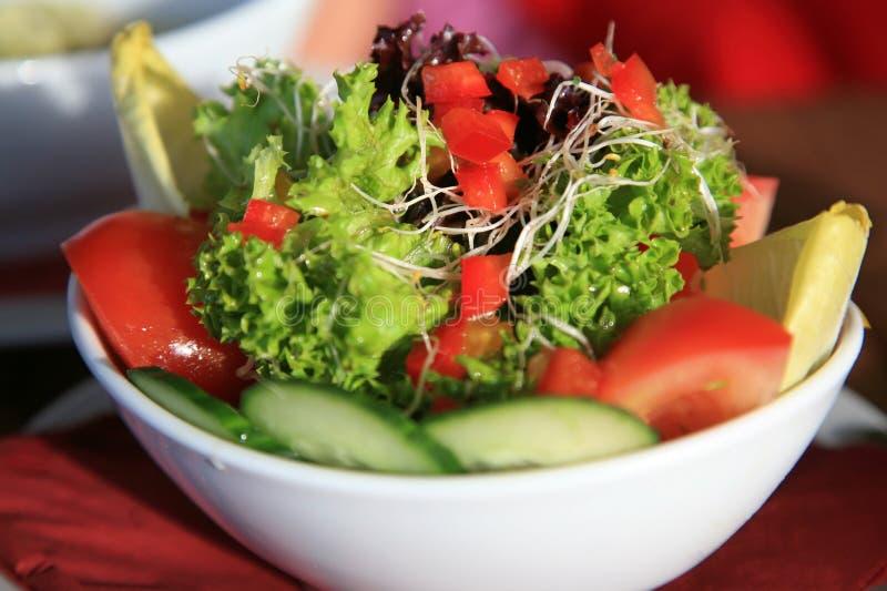 φρέσκια μικτή σαλάτα στοκ εικόνα με δικαίωμα ελεύθερης χρήσης