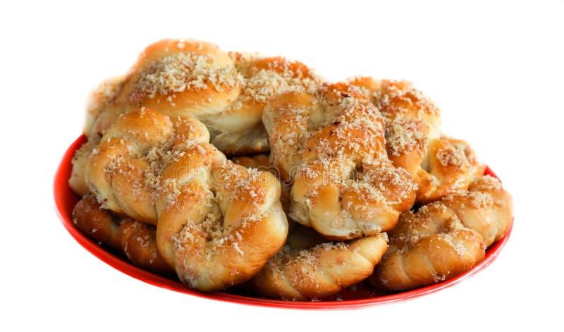 Φρέσκια ρουμανική παραδοσιακή πίτα στοκ φωτογραφίες