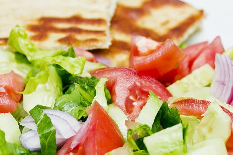 φρέσκια σαλάτα ανασκόπηση& στοκ εικόνες